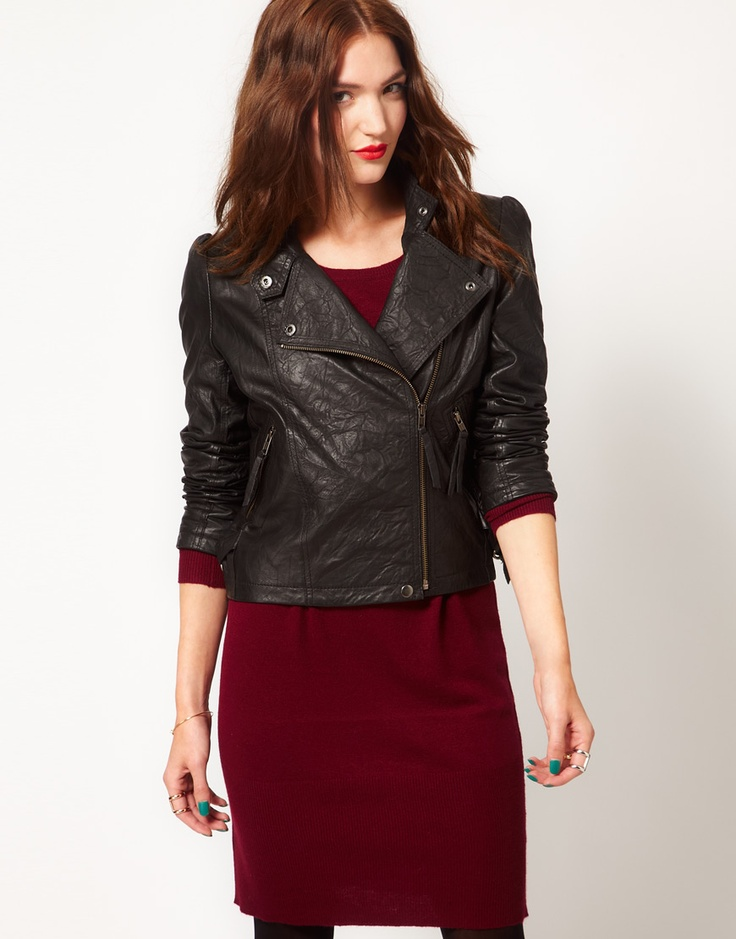 Just Female Leather Jacket