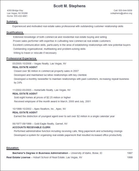 Free Resume Builder Template: 16 Best Sample Resumes Images On Pinterest