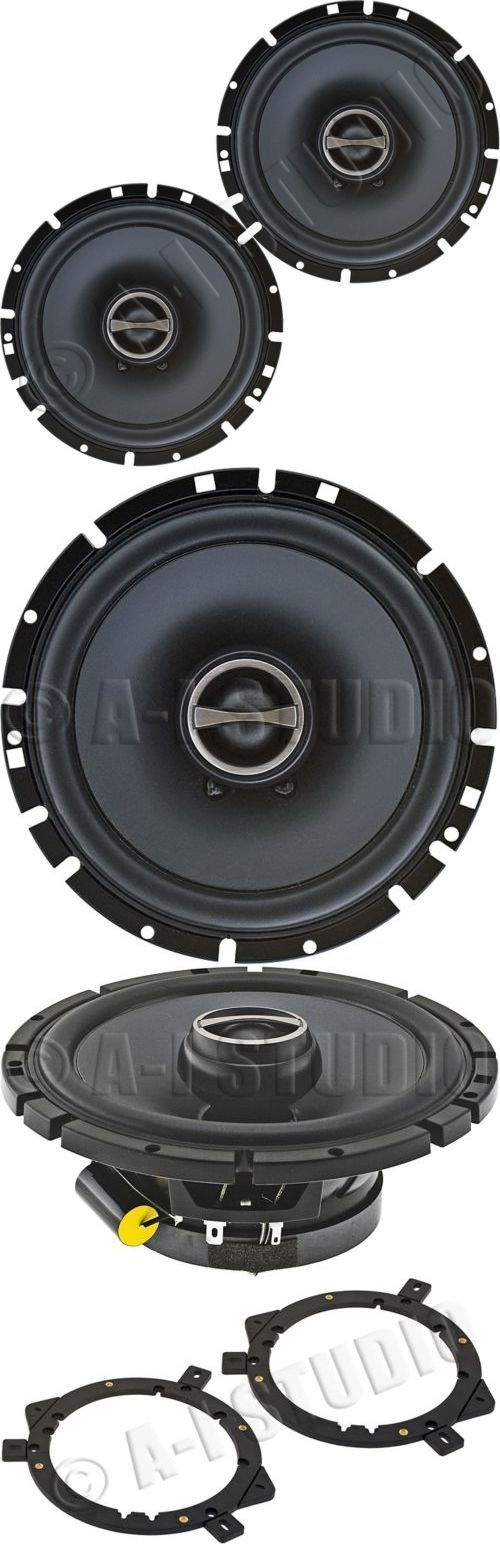 Car Speakers and Speaker Systems: Alpine Sps-610 Car Audio Stereo 6.5/6.752-Way/Coaxial Type-S Speakers Set/Pair -> BUY IT NOW ONLY: $57.95 on eBay!