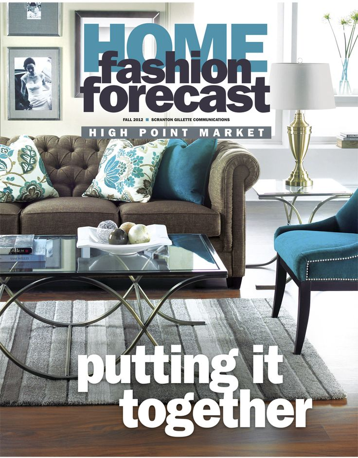Our Fall 2012 issue features #2230 sofa in Giorgio Peppercorn and cobistyle #C2450 chair in Giorgio Teal from Decor-Rest. View the full digital edition of this issue here: http://editiondigital.net/publication/?i=128333