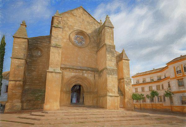 Parish Of Santa Marina Cordoba Spain By Joan Carroll Fine Art America Cordoba Spain Cordoba