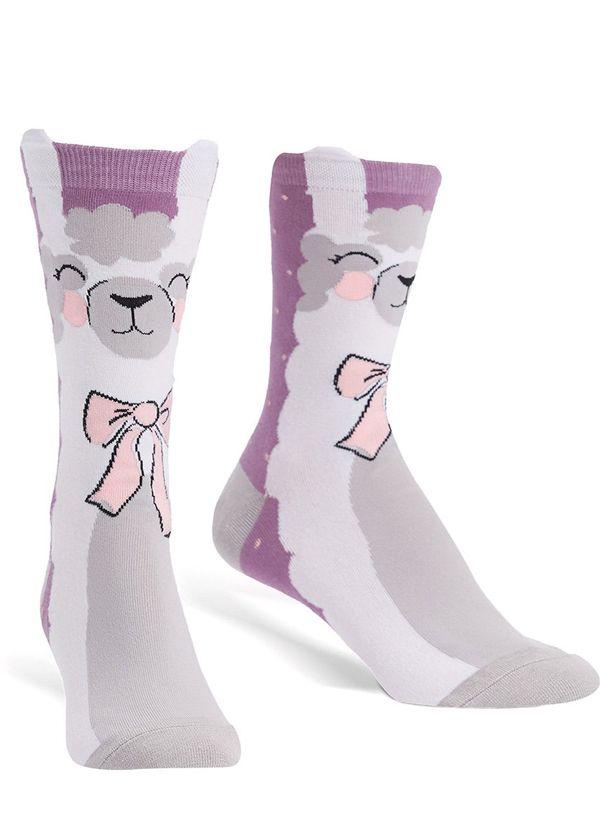 Cute Llama Socks For Women Llama Socks Cute Socks Fashion Socks