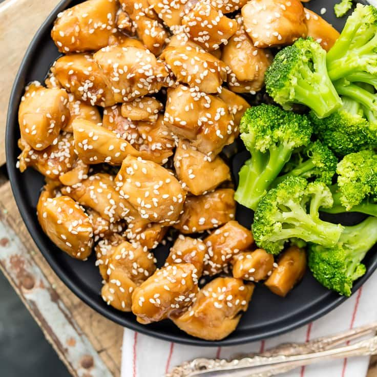 WE LOVE Super Easy Chicken Teriyaki! Made in just minutes and delicious for the entire family. This easy recipe for Teriyaki Chicken is a family favorite!