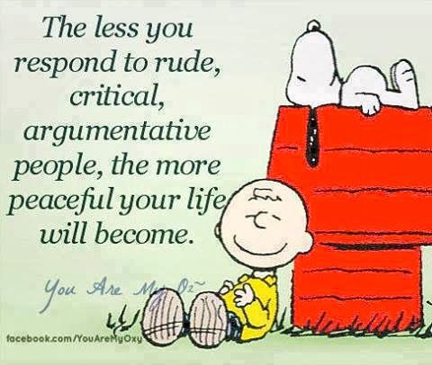 Good advise from Snoopy