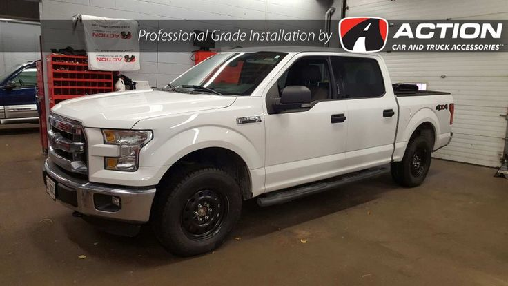 New Ford F150 with installed Winter wheel and tire package! Packages are available for all makes and models. Stop by Action today to get yours before the snow hits! #ProfessionalGradeInstallation #SnowTires