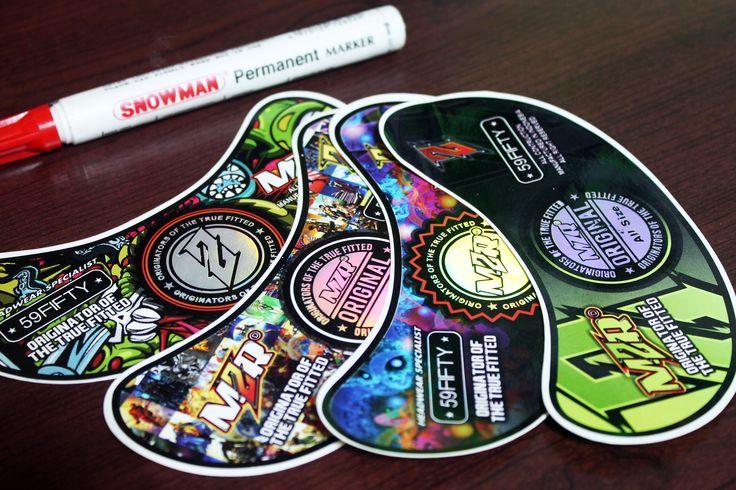 Sticker Hip-hop MZRD Offset Print  By. Qita Design