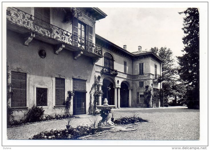 Italie - Anni '50, Gazzada (Varese), Villa Cagnola, Istituto Superiore di Studi Religiosi - FG