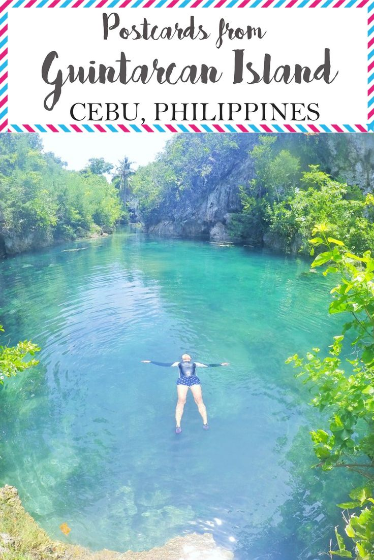 Postcard of the week: Guintarcan Island - A secret island in Cebu, Philippines