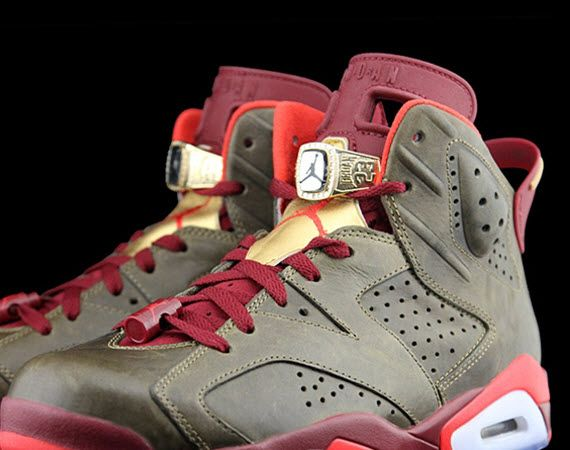 0d9da8c41743d6 Air Jordan 7 VII Retro Championship Cigar Tema Red Mens Basketball ...