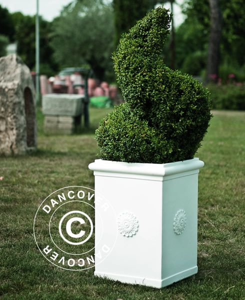 A range of beautiful, practical and super-durable lightweight planters with realistic stone, ceramic or terracotta look from Dancover. Produced in tough anti-shock, UV- and weather resistant, recyclable plastic. http://www.dancovershop.com/uk/products/planters.aspx