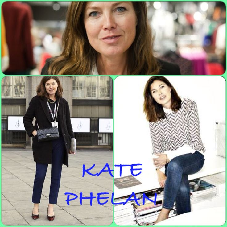 Kate Phelan is an esteemed fashion stylist. After 18 years as co-fashion director at British Vogue, she moved to Topshop in 2011 to become the creative director.