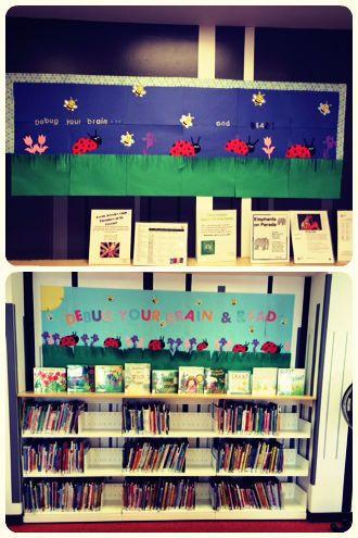 memorial day book display ideas