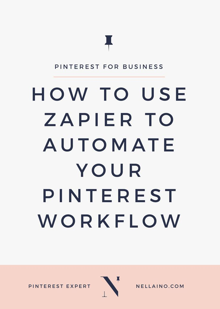 How to automate your Pinterest workflow with the help of Zapier - The best  Pinterest automation tool for bloggers. You can also gather info from your  competitors on Pinterest and analyze their keywords.