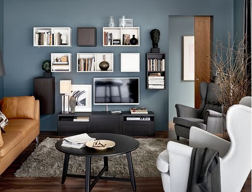 IKEA VALJE Wall Cabinet With 1 Door Brown Cm You Can Create Your Own Unique Solution By Freely Combining Cabinets Of Different Sizes Or