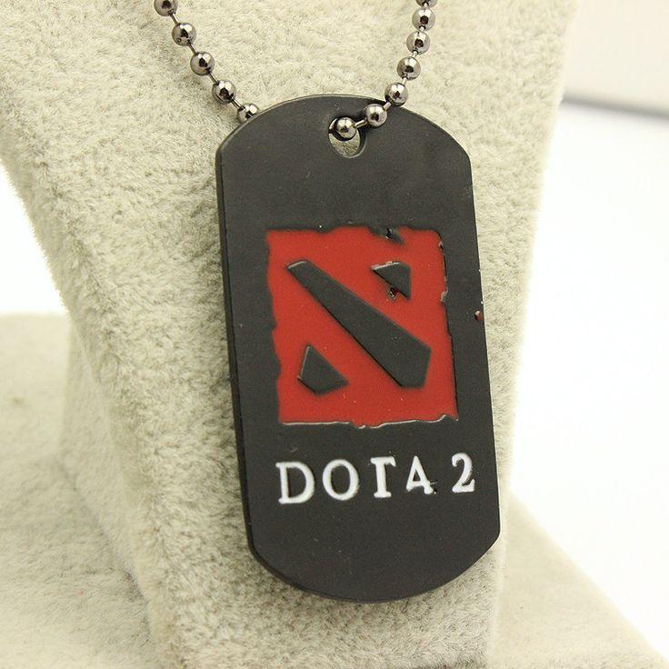 DOTA 2 Logo Pendant Necklace