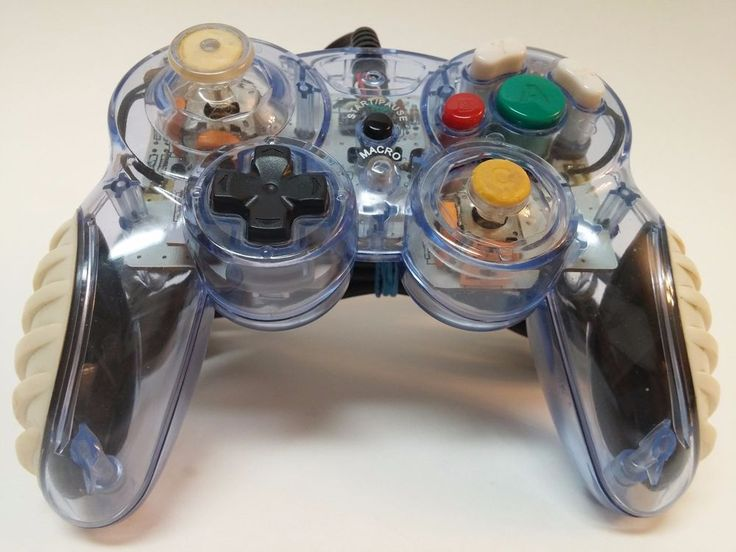 Mad Catz Clear GameCube Control Pad Pro Wired (2005) #MadCatz