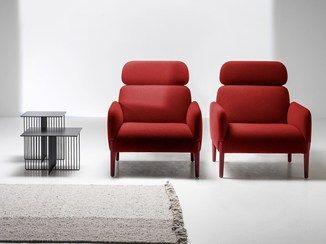 Мягкая ткань кресло с высокой спинкой РЕГИСТРИРУЙТЕСЬ |  С высокой спинкой кресла - La Cividina