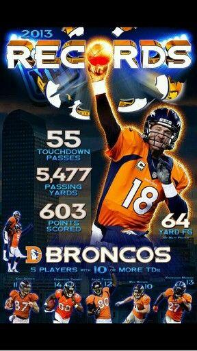 Peyton Manning-- #ProFootballDenverBroncos
