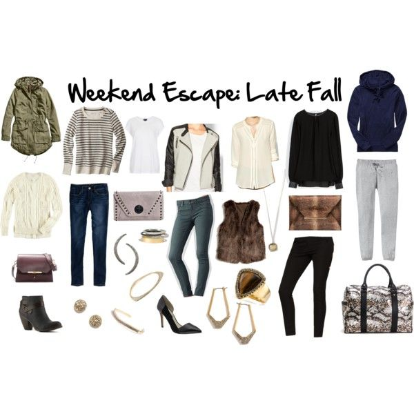 weekend getaway  packing late fall  the suitcase