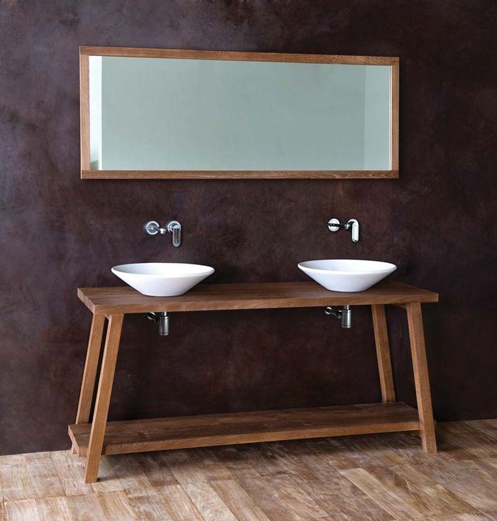 Arredobagno in teak - mobili da bagno, vasche e lavabi  (4)