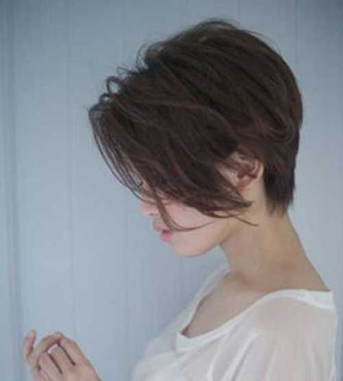 Chic Long Pixie Haircut Pictures