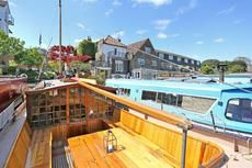 Boats for sale UK, boats for sale, used boat sales, Barges For Sale 17m Dutch Barge Houseboat on Thames Residential mooring in Kingston - Apollo Duck