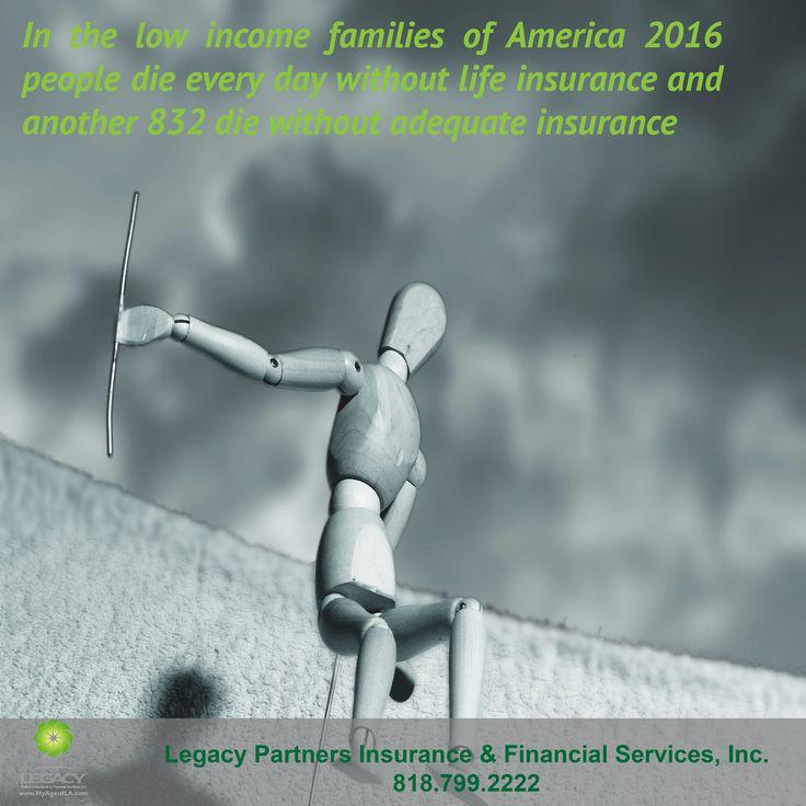 In the low families of america 2016 people die