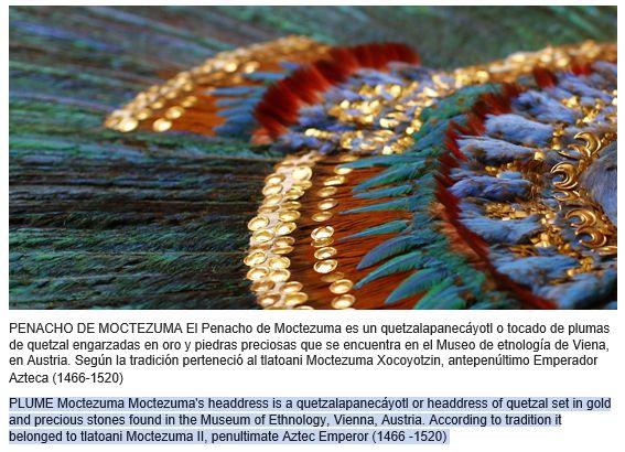 Penacho de Moctezuma