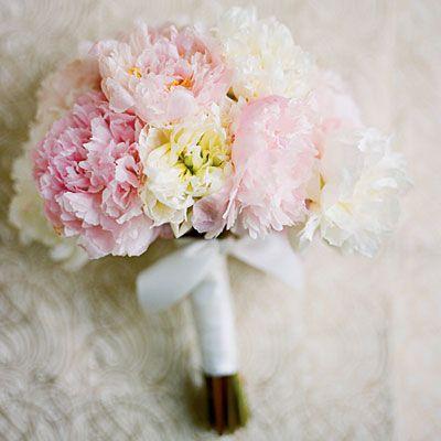 Pale Peony Bouquet