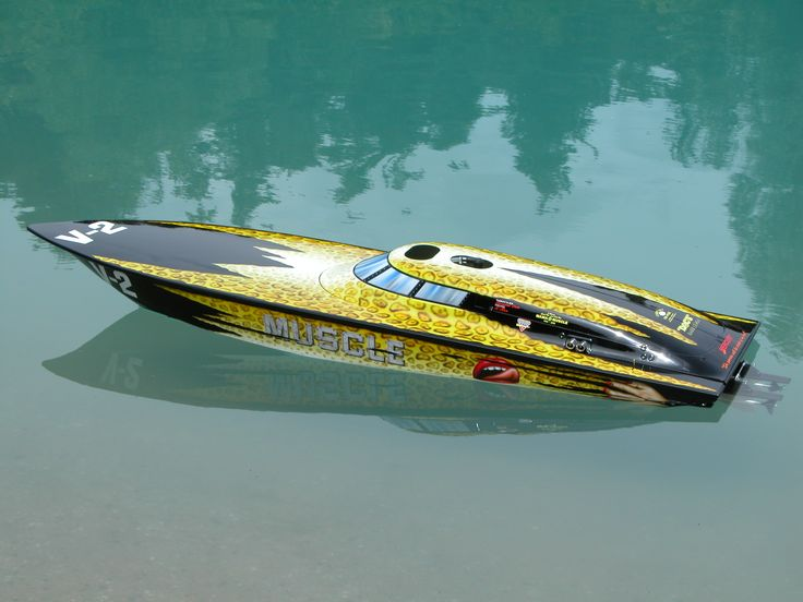 Fountain Racing 42' Love Muscle Remote Control Boat Replica ...XoXo