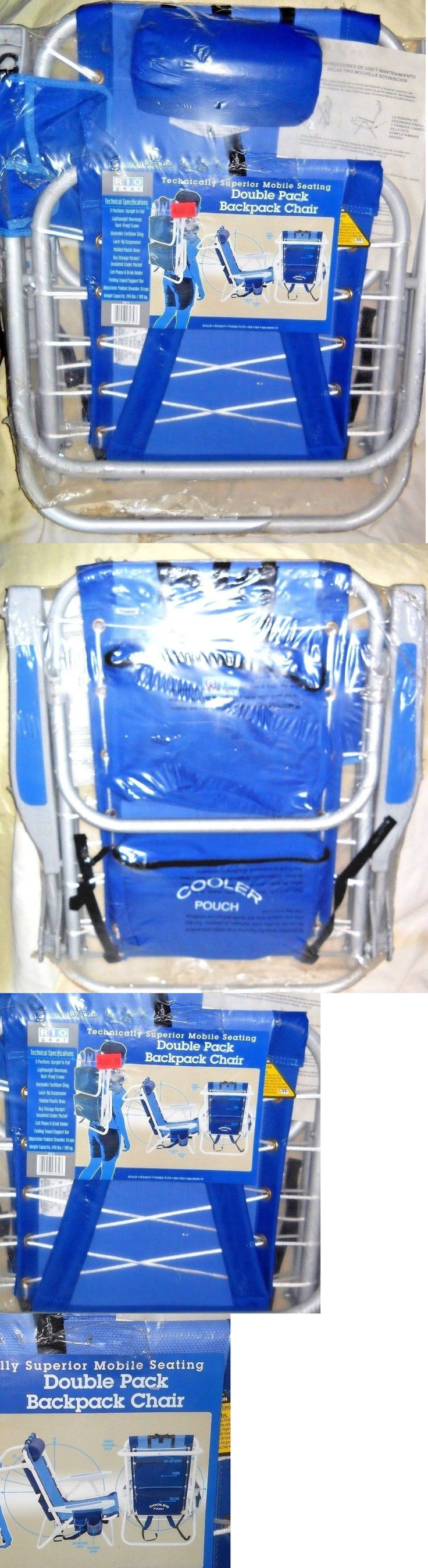 Jerry chair backpacking - Chairs And Seats 19985 Rio Gear Ultimate Backpack Chair W Cooler Drink Cell