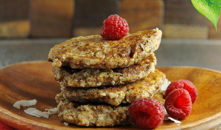Gluten Free Coconut, Oat, and Banana Pancakes
