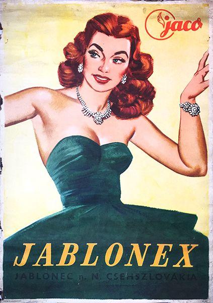 Jaco Jablonex Czechoslovak jewellery (1960s)