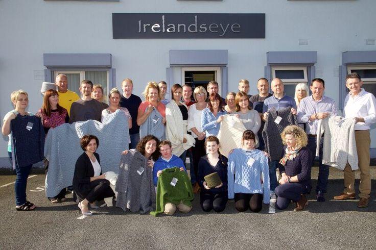 Aran Knitwear From Dublin - Irelands Eye Team http://blog.irelandseyeonline.com/luxe-heritage-aran-knitwear/