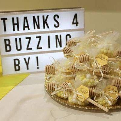 Bumblebee themed baptism favor. #eventstyling #favor #baptism #baptismdecor by myperfectevent