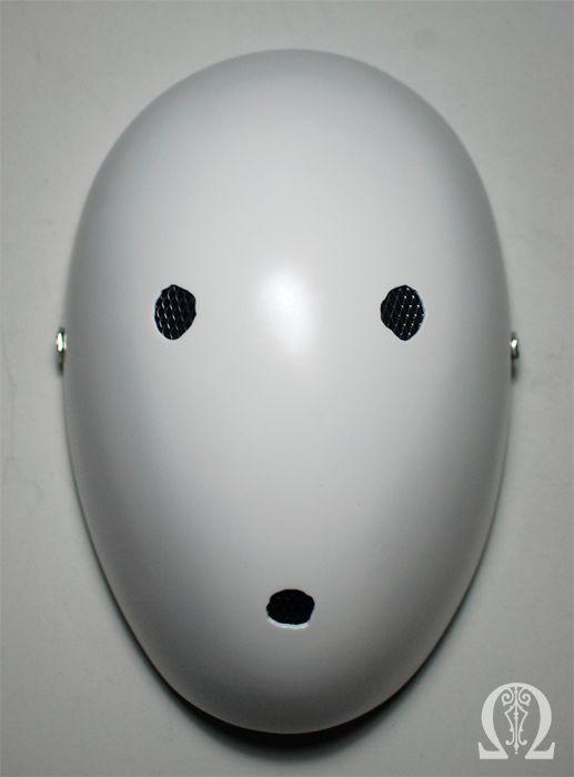 Custom order fiberglass mask.