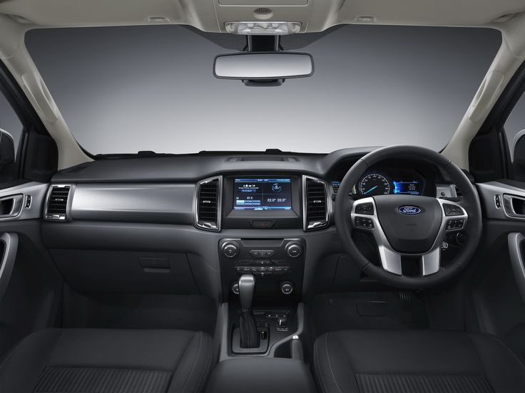 2018 ford ranger interior view