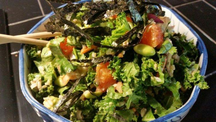 Recept Oosterse Gember Dressing. Een Oosterse smaak aan uw salade geven met deze heerlijke verse gember dressing.