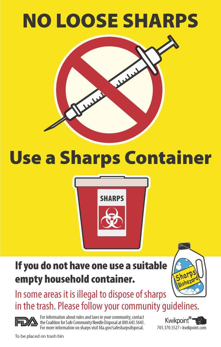 7 Best Safe Sharps Disposal Images On Pinterest