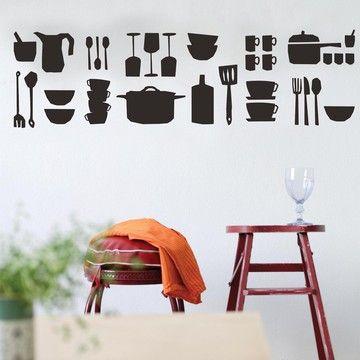 Kitchen Wall Sticker Part 76