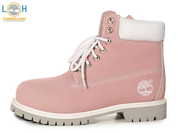 womens pink timberlands