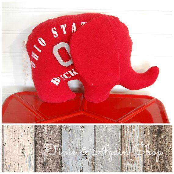 Ohio State T-shirt Buckey T-shirt Stuffed by timeandagainshop