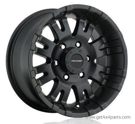 Series 5001 18x9.5 with 6 on 135 Bolt Pattern 4.5 Backspace Satin Black Finish Pro Comp Alloy Wheels