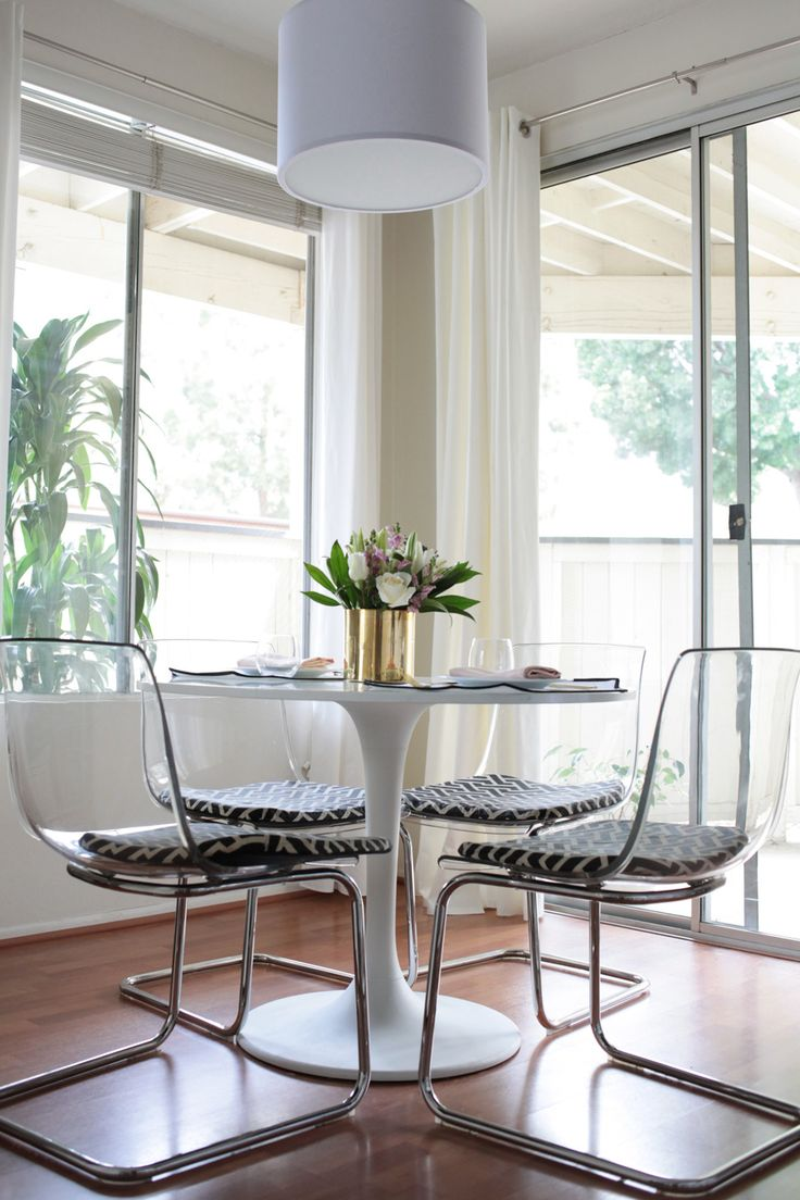 Best Ideas About Clear Chairs On Pinterest Bedroom Chairs - Dining chairs in living room