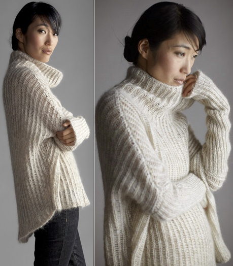i am in love with this eileen fisher mohair sweater