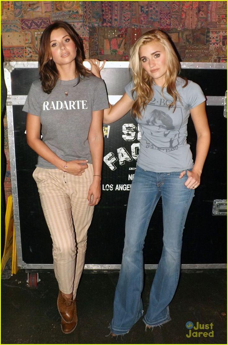 Aly & AJ Michalka: 78Violet's NYC Showcase sister style