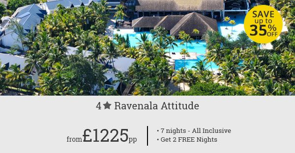 Treat yourself to a luxury Mauritius holiday without breaking the bank. Enjoy wonderful facilities and hospitality at Ravenala Attitude. Great savings!