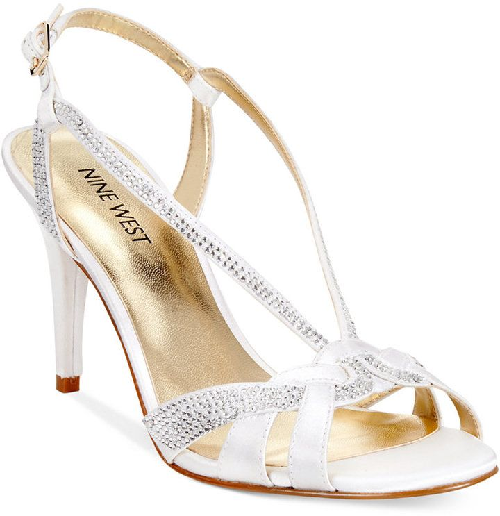 Nine West Illona Mid Heel Evening Sandals