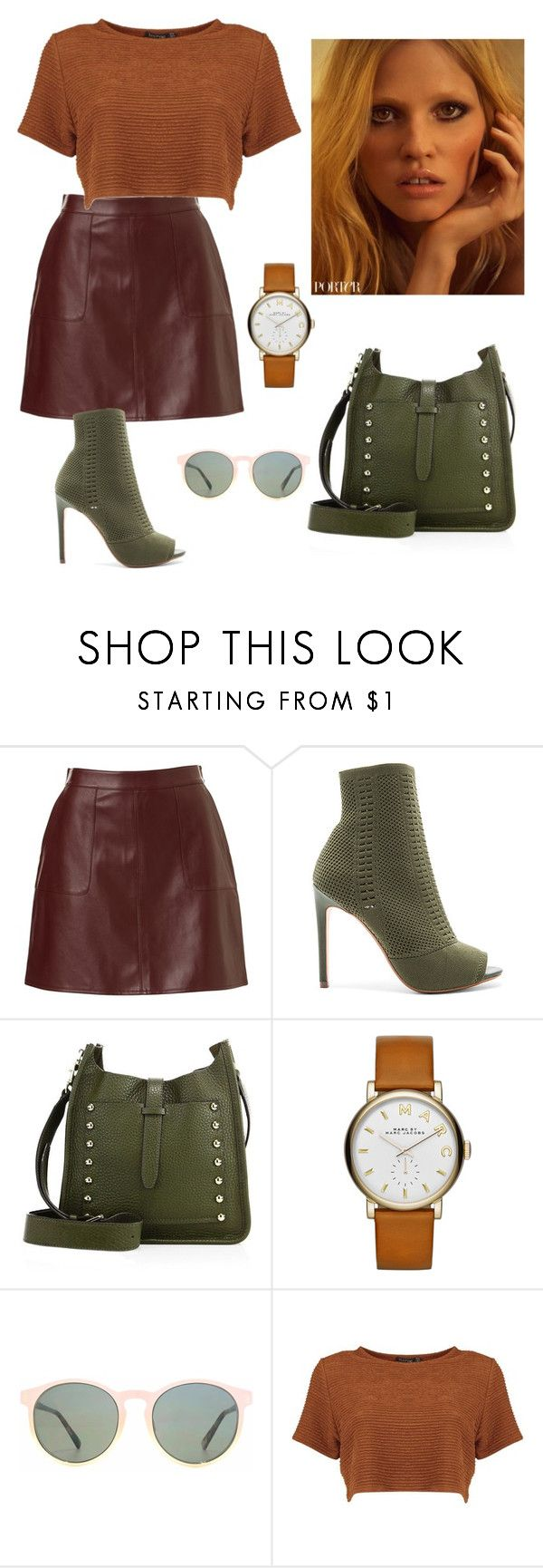 """""""20"""" by thaianemarrocos ❤ liked on Polyvore featuring Steve Madden, Rebecca Minkoff, Marc by Marc Jacobs and HOOK LDN"""