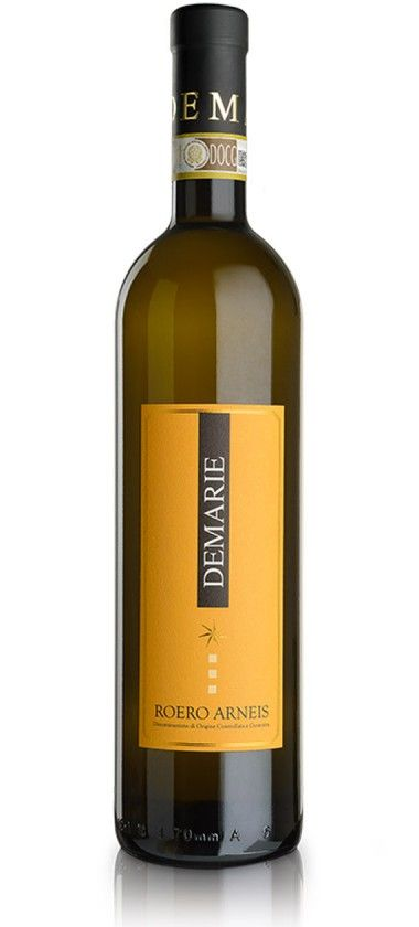 Roero Arneis DOCG 2014 – Demarie € 12.90 Arneis is the result of a lucky rediscovery, due to the intuition, headstrong passion, and the business capacity of the winegrowers of the Roero region. Within a very short time, this authentic champion of local winemaking has made itself a name in the list of international quality wines.